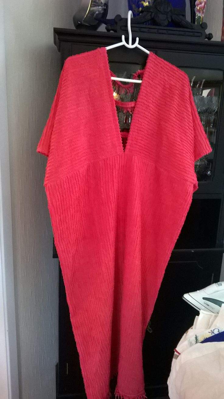Picture no 2 of the same bathrobe as in my last pin