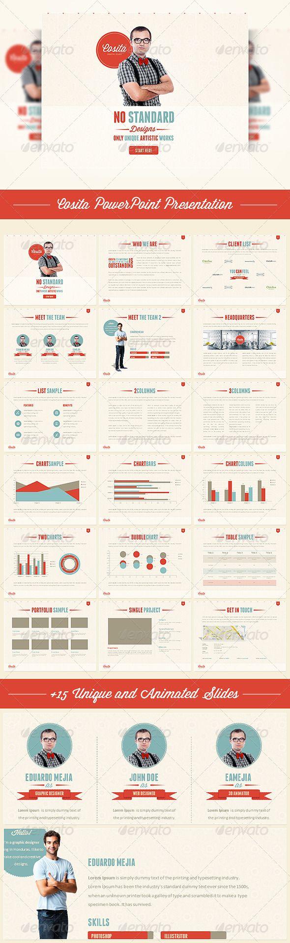 Cosita PowerPoint Presentation for media kit?