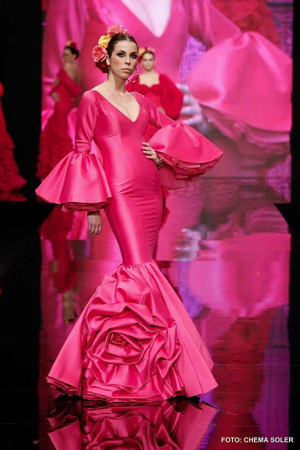 Mejores 102 imágenes de Flamenca en Pinterest | Moda flamenca, Traje ...
