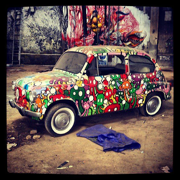 Willow Art, car wrap vehicle cover