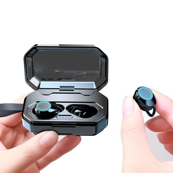 aa268172213 [Bluetooth 5.0 & IP7 Waterproof]The NEWEST TWS Earbuds Headset Dual Mic  with Charger - oblevs