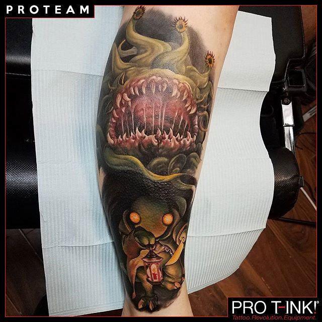 Tattoo by Pro T-Ink proteam Artist Sarah Miller @sarahmillertattoo!  #sarahmiller #sarahmillertattoo #protink #evo10 #evo24 #proteam #tattooworkstation #inkpalette #inktrays #tattoosetup #tattooequipment #tattoosupply #realistictattoo #bestartists #toptattoos #amazingink #inkedmag #inksav  http://www.pro-t-ink.com