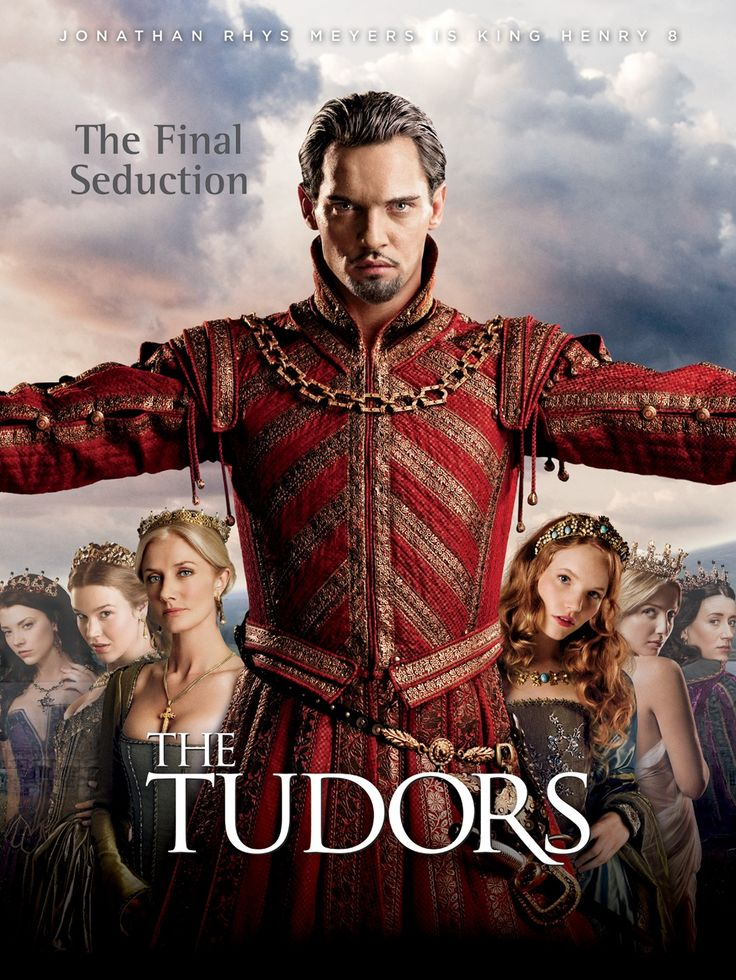The TUDORS  S4 Poster (2010) (2007-04-01 S1-S4 2010Apr11-Jun20) creator/writer: Michael Hirst • stars: Jonathan Rhys Meyers (as King Henry VIII)  + Natalie Dormer (as Anne Boleyn) + Henry Cavill (as Charles Brandon) + James Frain (as Thomas Cromwell) +  Peter O'Toole (as Pope Paul III) • Wiki: http://en.wikipedia.org/wiki/The_tudors • IMDB: http://www.imdb.com/title/tt0758790/?ref_=sr_1