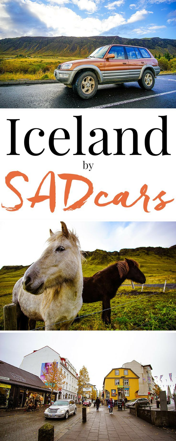 Planning a trip to Iceland? Book a rental with SADcars to get the most out of your trip! They're the cheapest car rentals in Iceland and they allow you to see so much more than a tour ever will! @sadcars