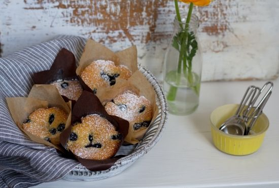 Try these scrumptious fluffy muffins, perfect as a breakfast treat or afternoon snack.