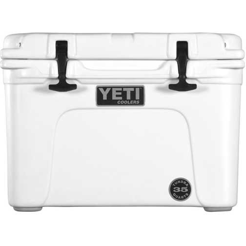 Maybe a cooler instead of a fridge?  Yeti