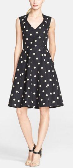 Pretty polka dot fit & flare http://rstyle.me/n/pfxasn2bn