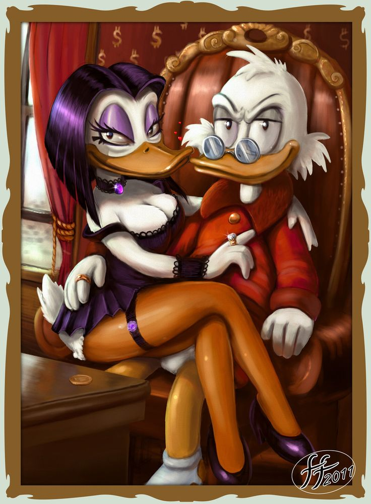 Scrooge and Magica