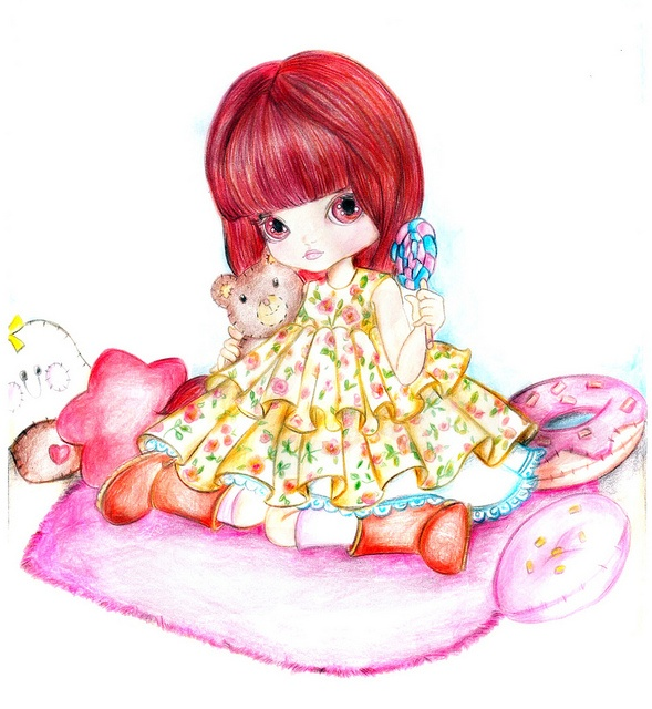Wishlist: Dal Chibi Risa do jeito que eu a vejo by Maria Emilia :-), via Flickr