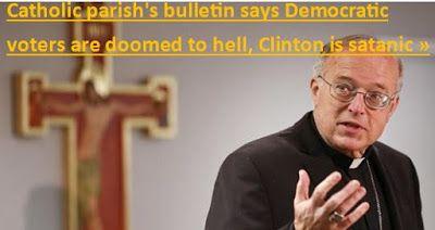 Η ΑΠΟΚΑΛΥΨΗ ΤΟΥ ΕΝΑΤΟΥ ΚΥΜΑΤΟΣ: Καθολική Εκκλησία-Σαν Ντιέγκο: Όσοι ψηφίσουν την Κ...