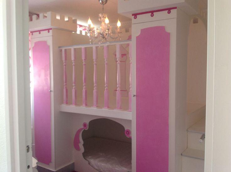 Prinsessen Slaapkamer : ... Slaapkamers op Pinterest - Prinsessenkamer ...