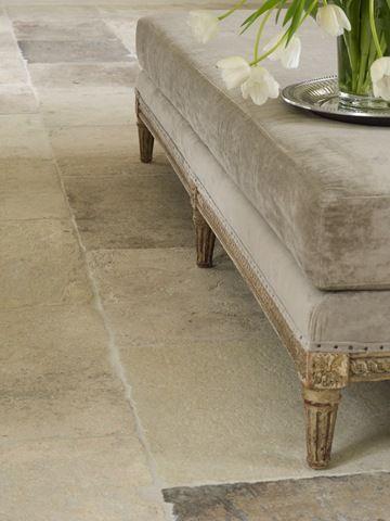 kalksteen vloer
