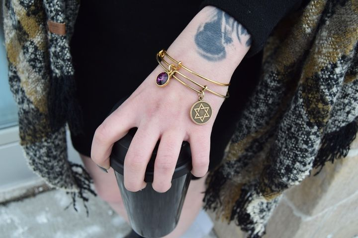 It's all about the accessories at #PlatosClosetBarrhaven – Whether you like major glam or sweet & subtle, we have all your jewellery essentials! //#AlexAndAni bracelet, $18 each// | www.platosclosetbarrhaven.com