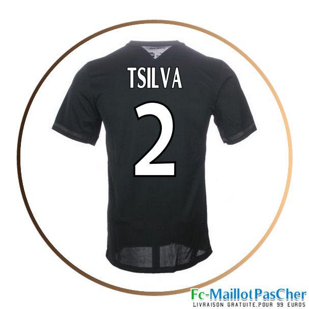 maillot de football paris psg noir t silva 2 third 15 2016 2017 euro 2016 pinterest. Black Bedroom Furniture Sets. Home Design Ideas