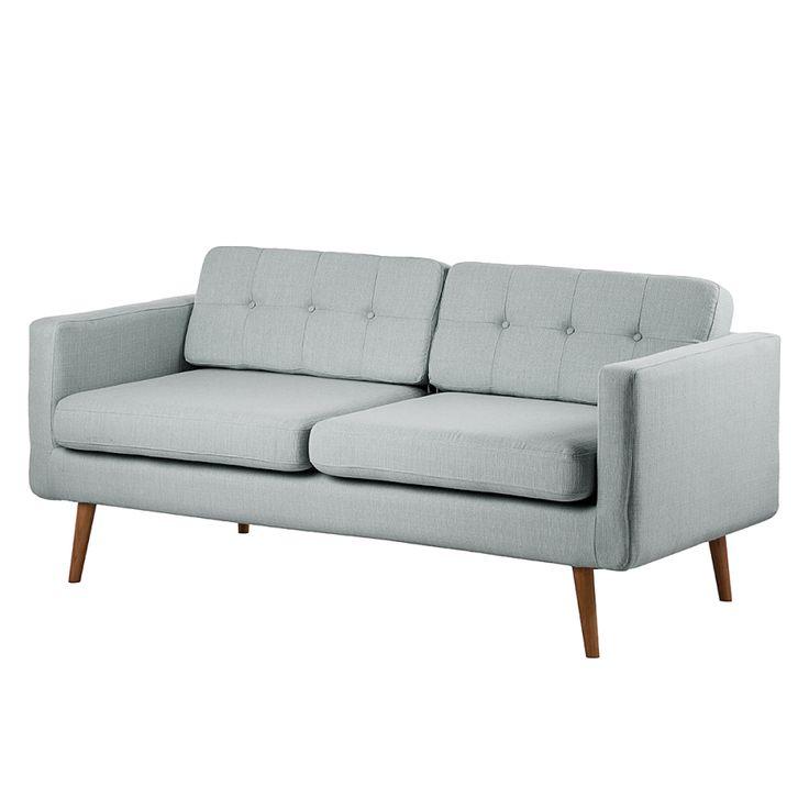 Sofa Croom (3-Sitzer) - Webstoff Grau