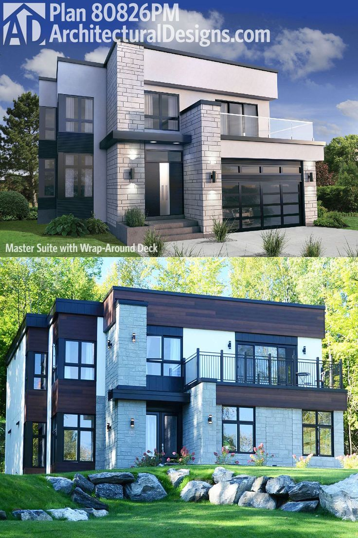 156 best beach house narrow lot plans images on pinterest modern our first pictures of architectural designs modern house plan 80826pm are in over 2 300 square