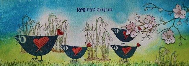 Regina's artfun: Lentekriebels