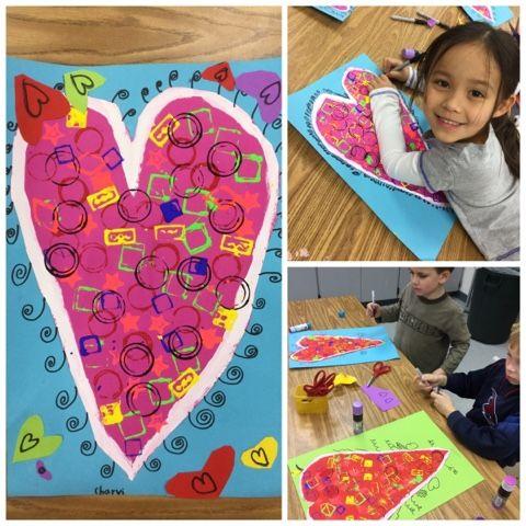 Kindergarten Valentines 2016