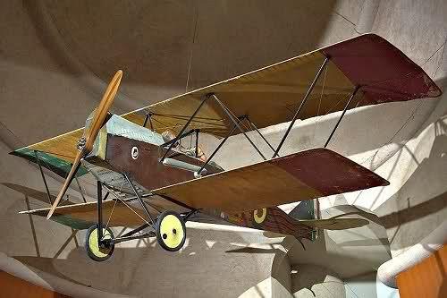 Ansaldo SVA 5 di g Gabriele D'Annunzio (usato nel famoso volo su Vienna) esposto al Vittoriale
