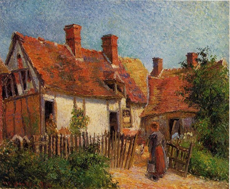 80 Best Pissaro Images On Pinterest Camille Pissarro Painting Art And Art Paintings