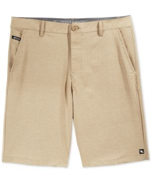 Rip Curl Men's Mirage Angry Elf Hybrid Boardwalk Shorts  - Tan/Beige 38