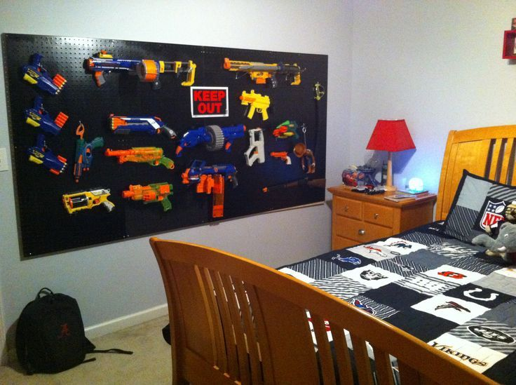 Boy Bedroom Storage: 17 Best Images About All Things Nerf On Pinterest