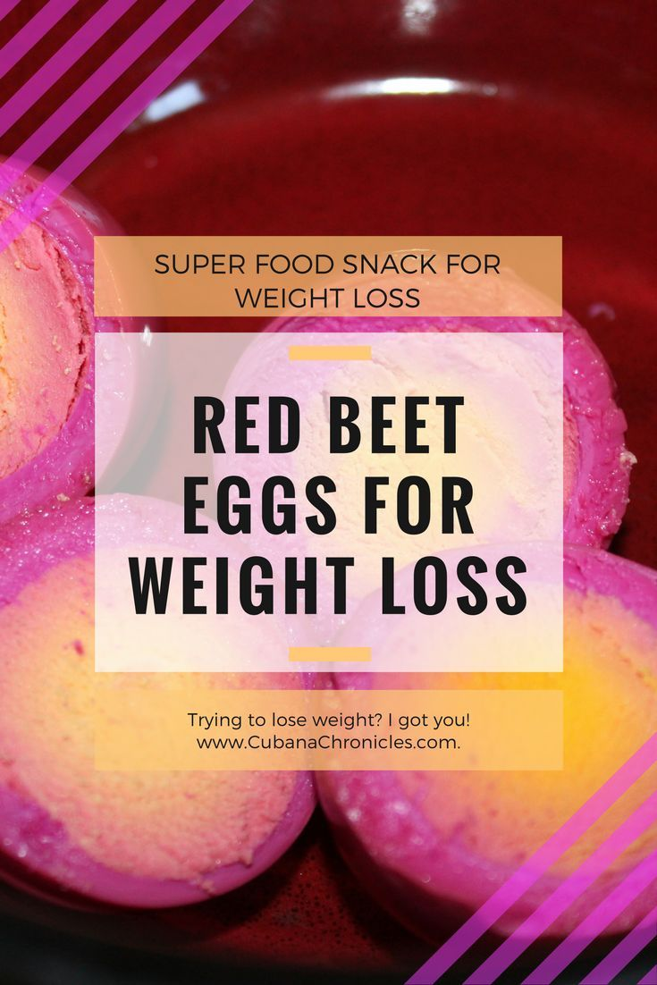 Are you trying to lose weight? Red beets and eggs can help you! How? Keep reading to see how you can be healthier with these foods!