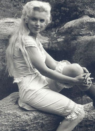 Marilyn Monroe 1953 in River of No Return (1954 release date)