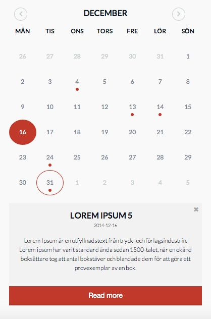 Weekly Calendar Jquery : Jquery simple eventcalendar make it easier for you to