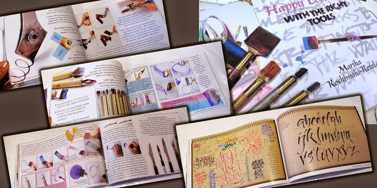 Thnk you for all of you who have support this book by promoting, sharing and buying it! Huge hugs from happy calligrapher ;)