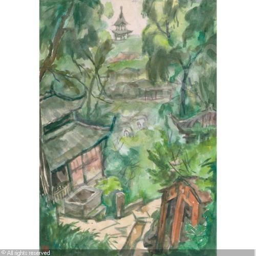 GUAN LIANG - THE MOUNTAIN TEMPLE