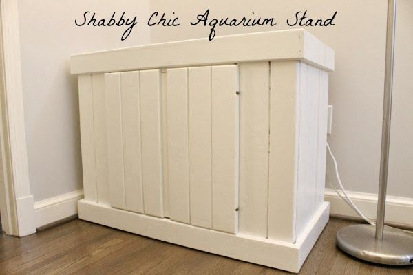 Shabby Chic Aquarium Stand | Meet the B's