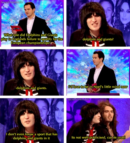 Noel Fielding // Big Fat Quiz of the Year Luv this man