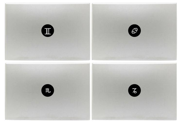 Zodiac Laptop Stickers