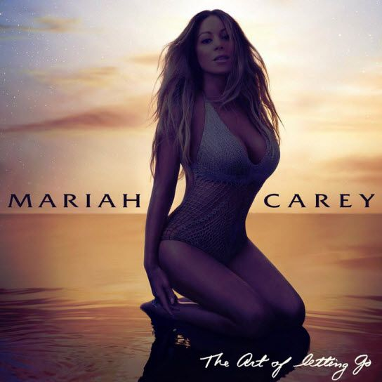 Mariah Carey wears swimsuit on The Art of Letting Go cover art