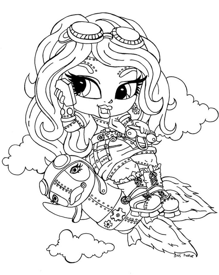 43 best monster high images on pinterest   monster high dolls ... - Monster High Chibi Coloring Pages