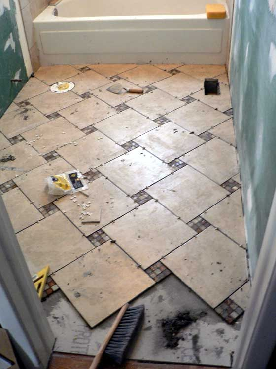 laying bathroom tiles 1000 ideas about laying tile on brick 13420 | aad202a5231bb66e7bb4fa5636d404b1
