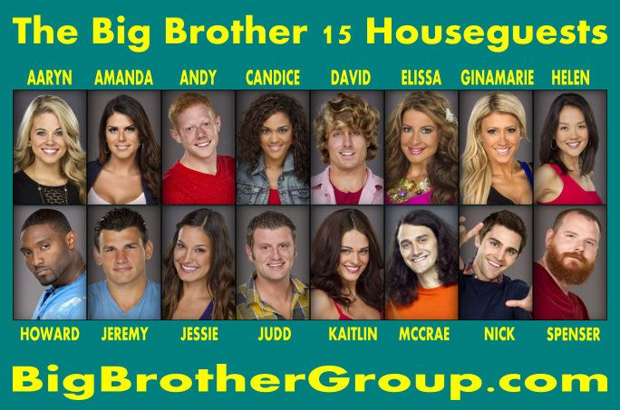 pictures of big brother 15 cast | Everything you SHOULD know about the Big Brother 15 cast!