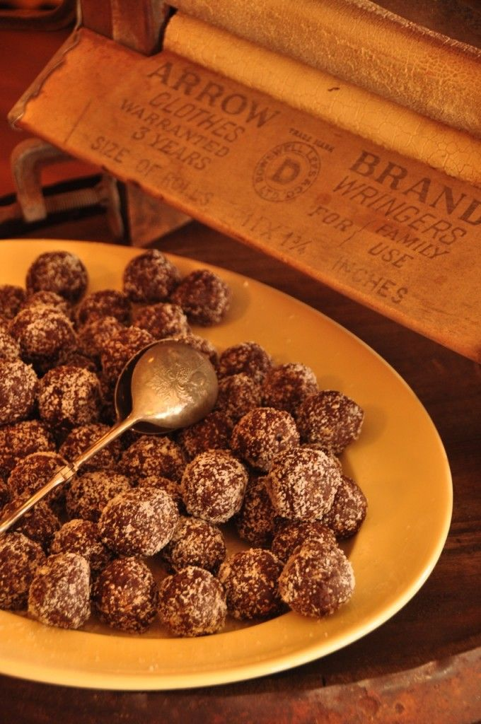 Raw Chocolate Bliss Balls - The Renegade Kitchen