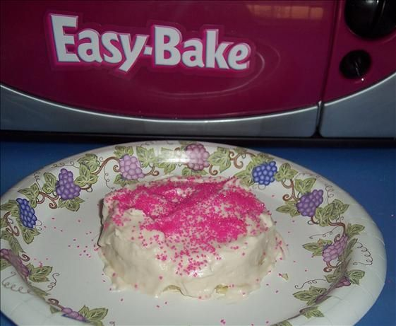 Easy-Bake Oven Pink Sparkles Frosting from Food.com: Frosts a two-layer cake.