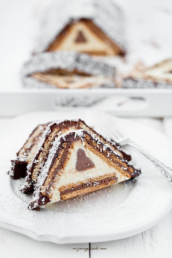 ... cheesecake with chocolate ganache, cocoa glaze & coconut ...