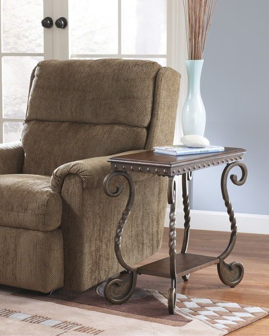 Pleasant Ashley Furniture T382 7 Rafferty Rich Metal Finish Legs And Home Interior And Landscaping Eliaenasavecom
