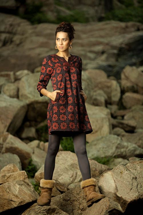 this is clothing made by an Indian company called 'anokhi' - their stuff is amazing!!! I wish I can get this one!!
