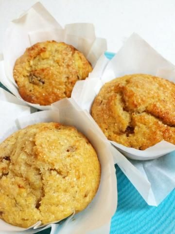 Kids will love these deliciously healthy ABCD (Apple, Banana, Coconut and Date) Muffins!