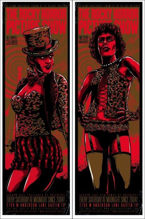 The Rocky Horror Picture Show / Mondo: The Archive | Ken Taylor - Rocky Horror Picture Show, 2009 /