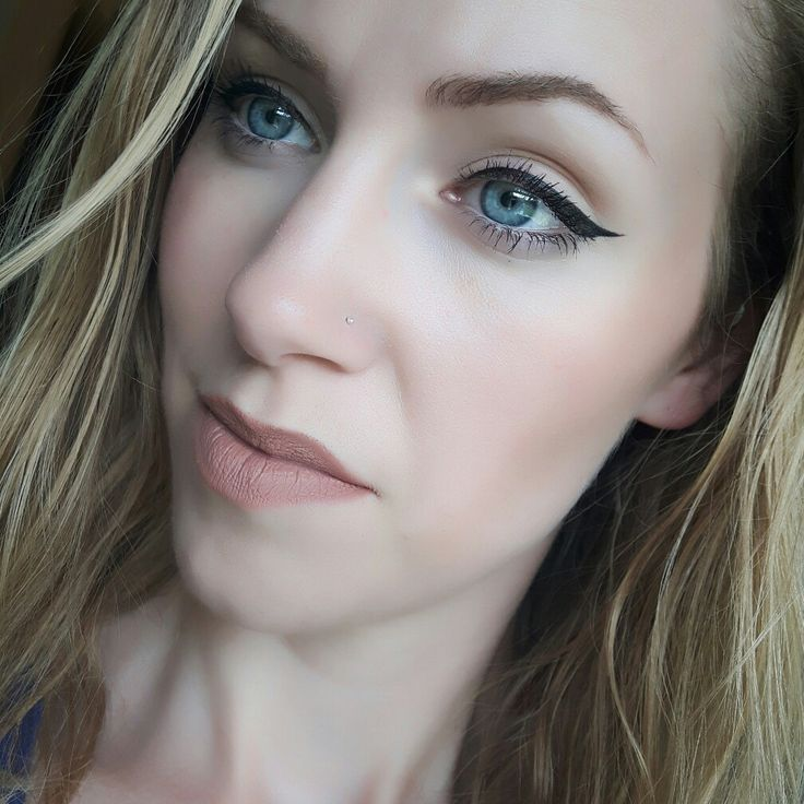 Dioné Cosmetics Foundation in 101  Liquid lipstick in AlrightyThen