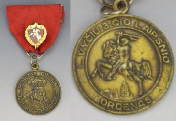 Vytautas the Great, bronze medal order L.Vyciu 3rd class 1930