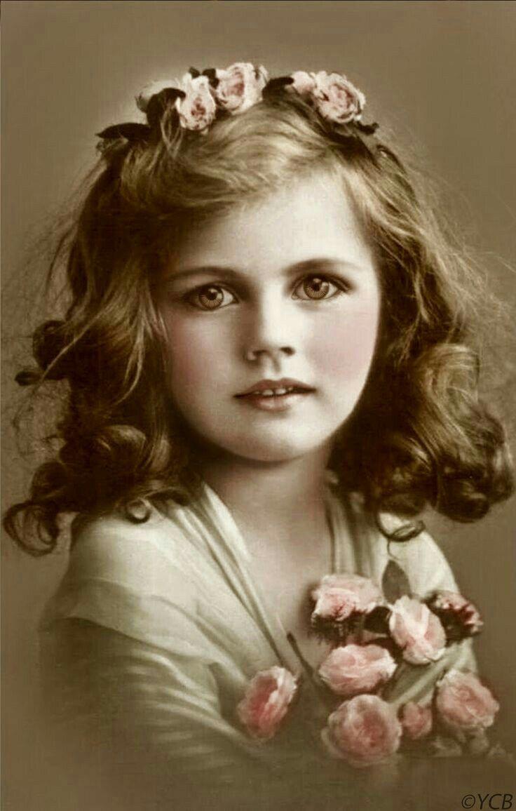 Детские ретро фото открытки, картинки