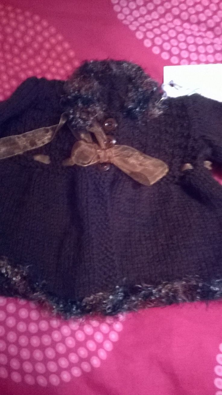 Beautiful Brown coat,age£3-6 months£18+p&p