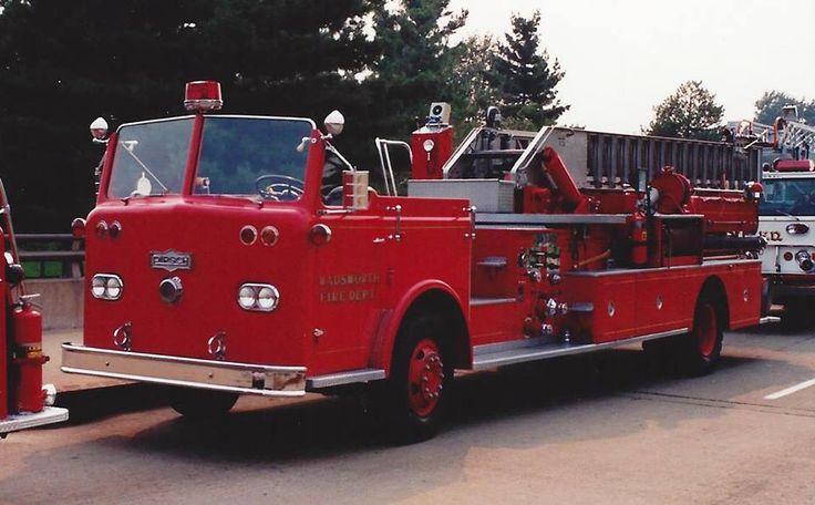 Wadsworth, Ohio Pirsch Ladder Fire trucks, Fire service